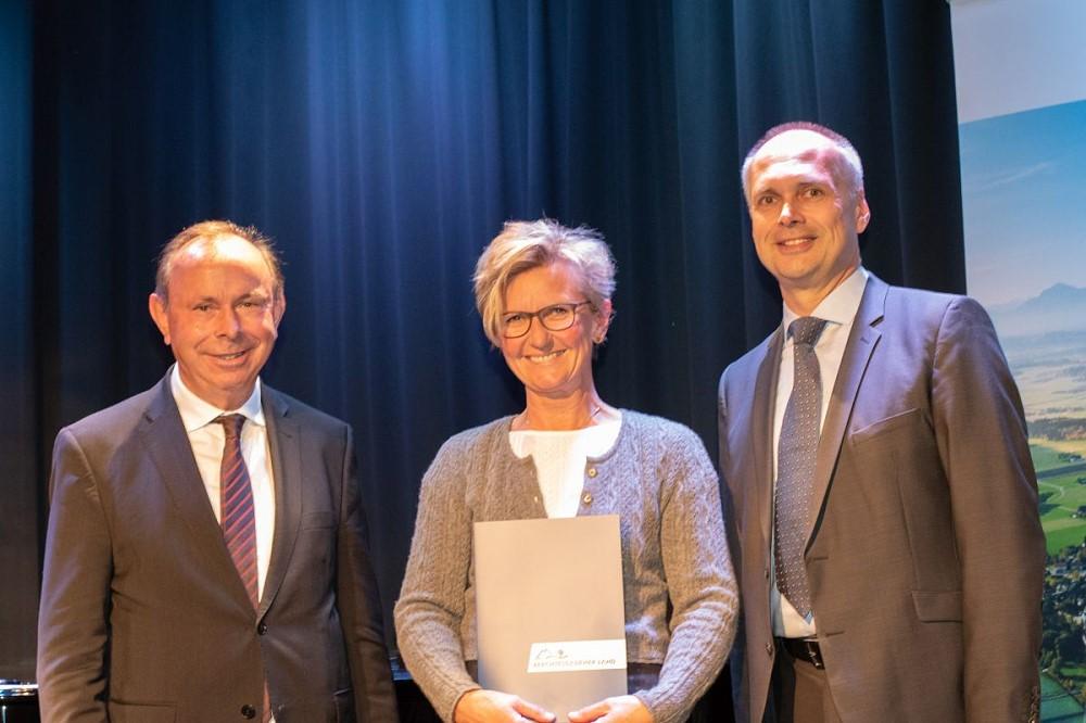 Qualitätssiegel-Verleihung an Christine Wenig - Oktober 2018